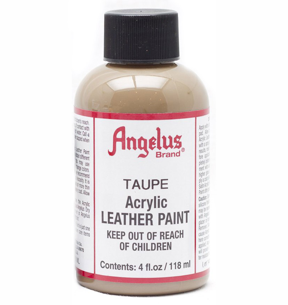 Angelus Leather Paint 4 Oz Taupe