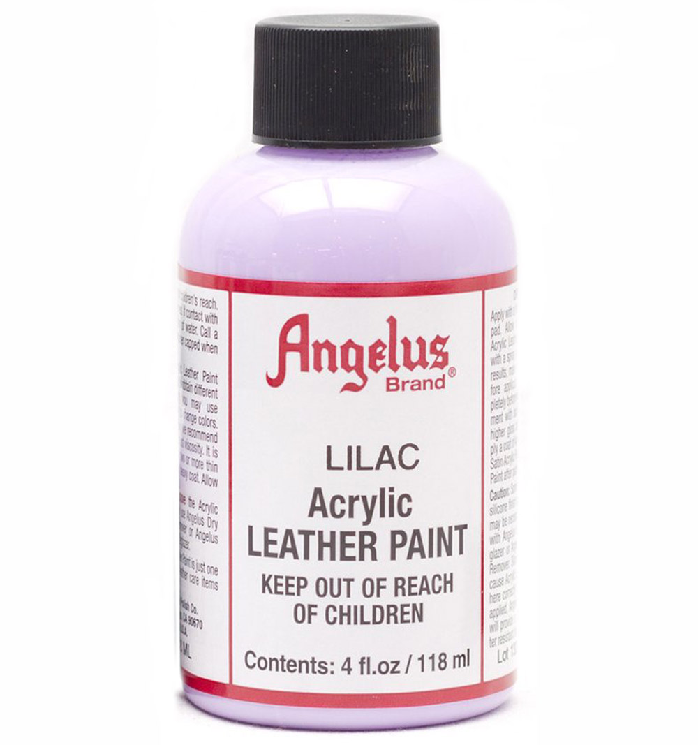 Angelus Leather Paint 4 Oz Lilac