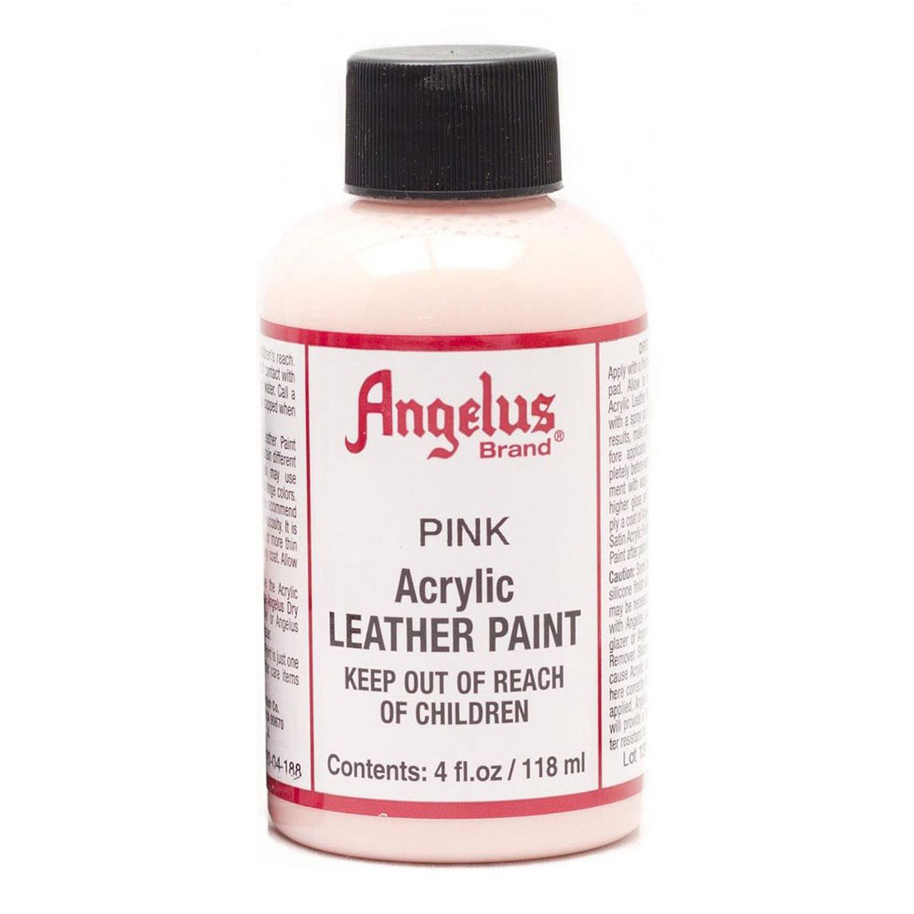 Angelus Leather Paint 4 Oz Pink