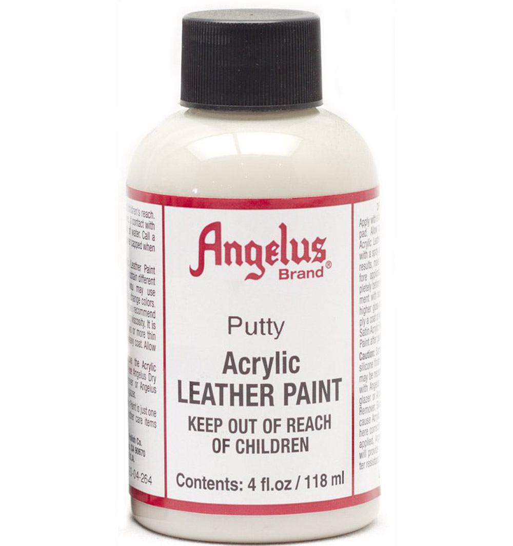 Angelus Leather Paint 4 Oz Putty