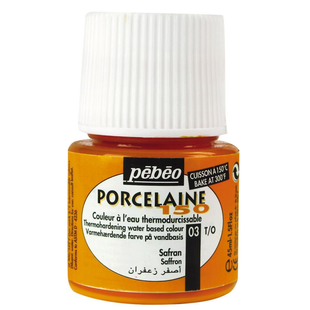 Pebeo Porcelaine 150 Saffron Orange