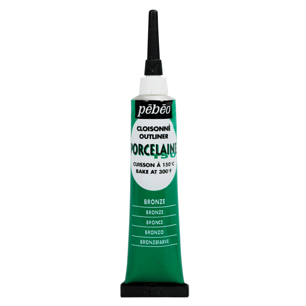 Pebeo Porcelaine Outliner 20Ml Bronze