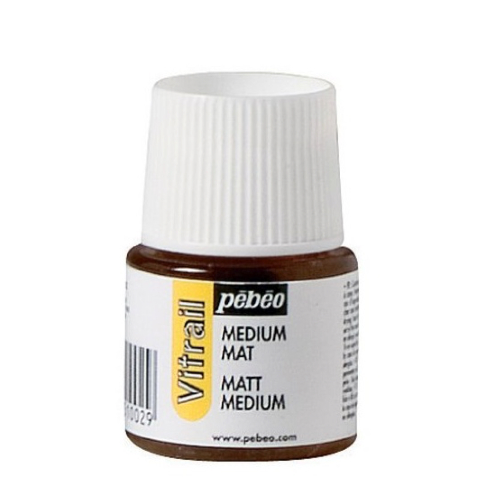 Pebeo Vitrail Glass Paint 45Ml Matt Medium