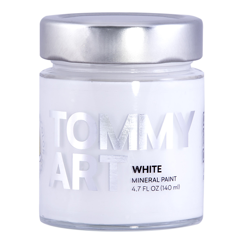 Tommy Art Chalk Paint White 140ml