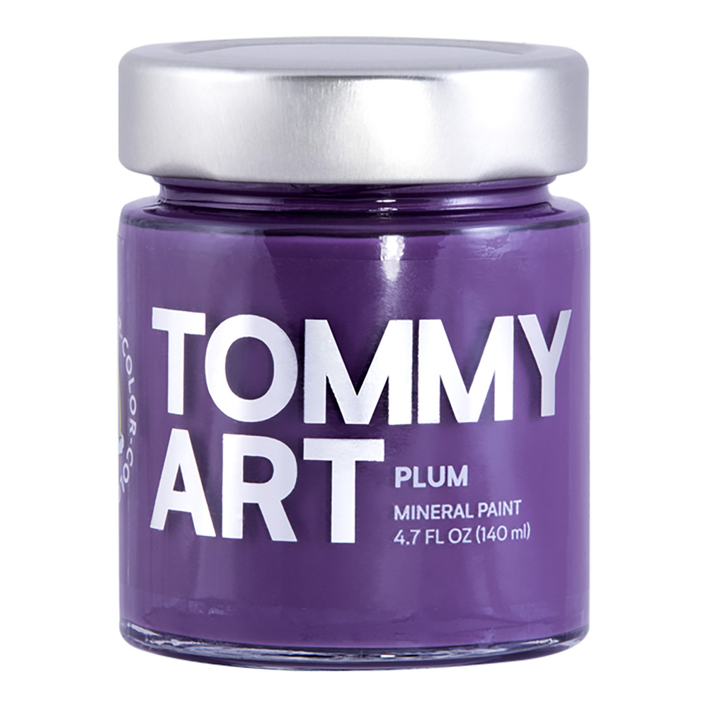 Tommy Art Chalk Paint Plum 140ml