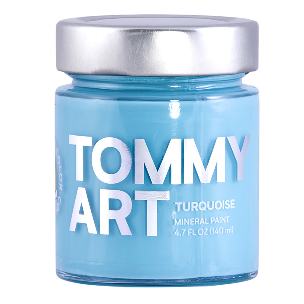 Tommy Art Chalk Paint Turquoise 140ml