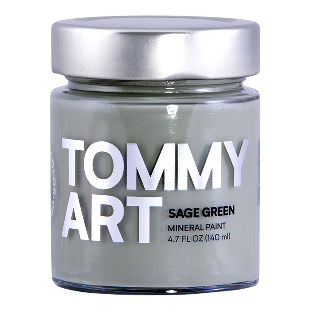 Tommy Art Chalk Paint Sage Green 140ml