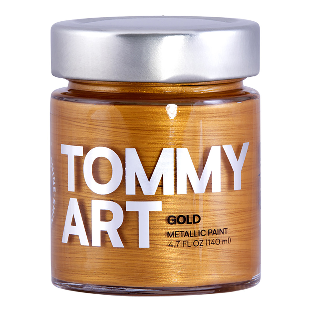 Tommy Art Chalk Paint Metallic Gold 140ml