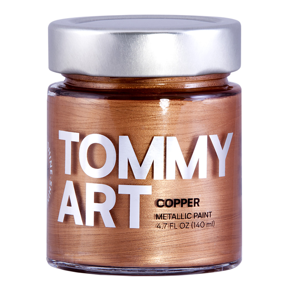 Tommy Art Chalk Paint Metallic Copper 140ml
