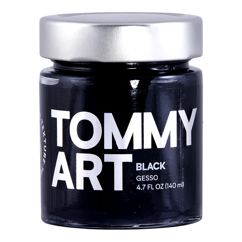 Tommy Art Black Gesso 140ml