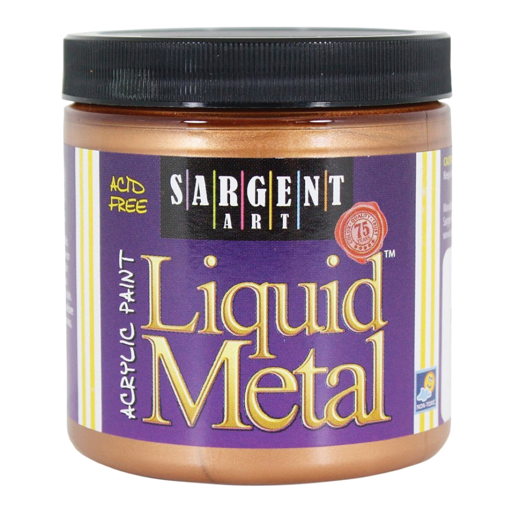 Liquid Metal Acrylic Paint 8 Oz Bronze