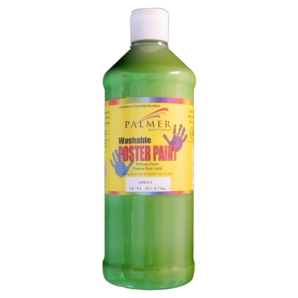 Washable Poster Paint 16 Oz Green