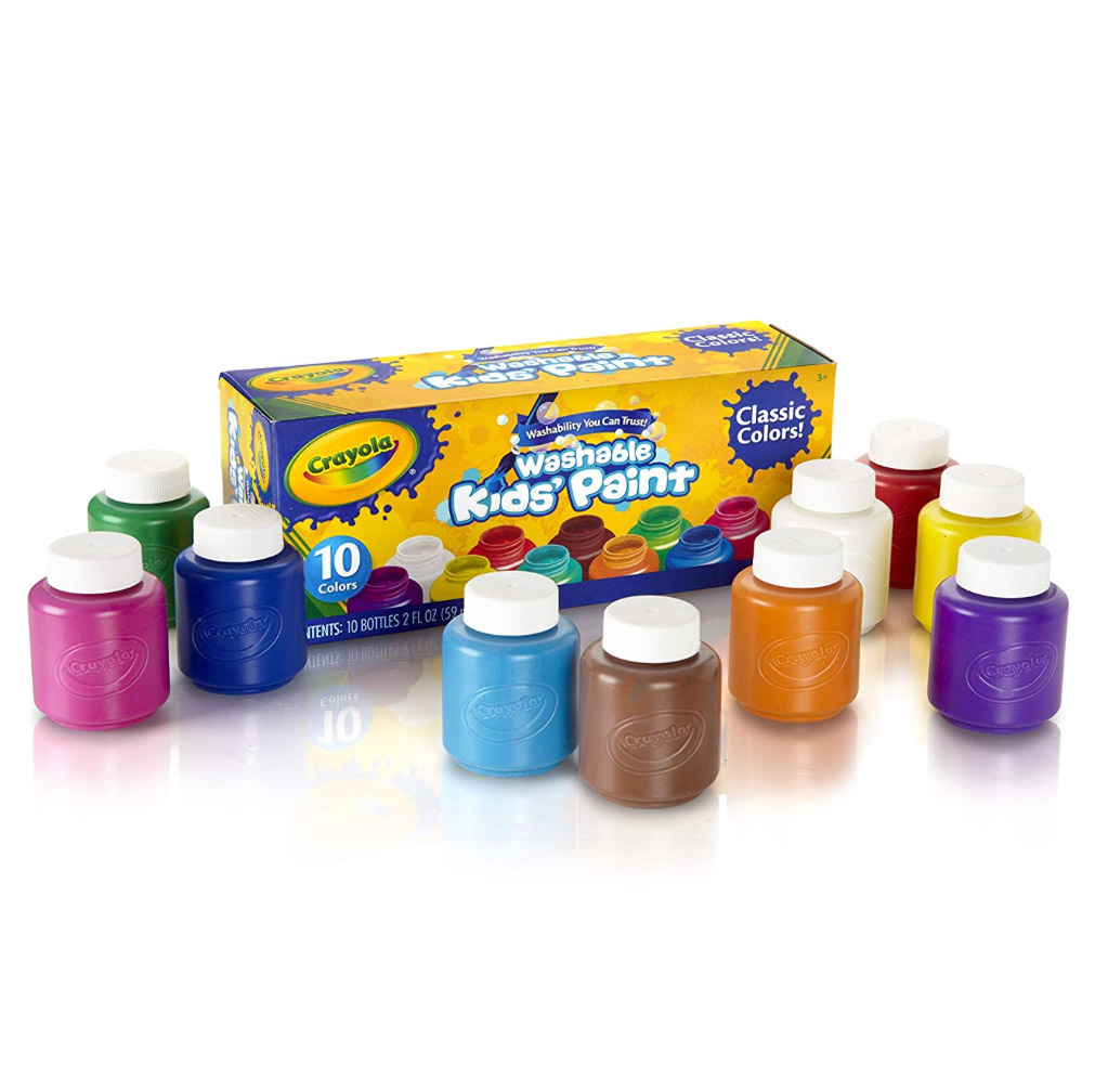Crayola Washable Kids Paint 2 Oz Set Of 10