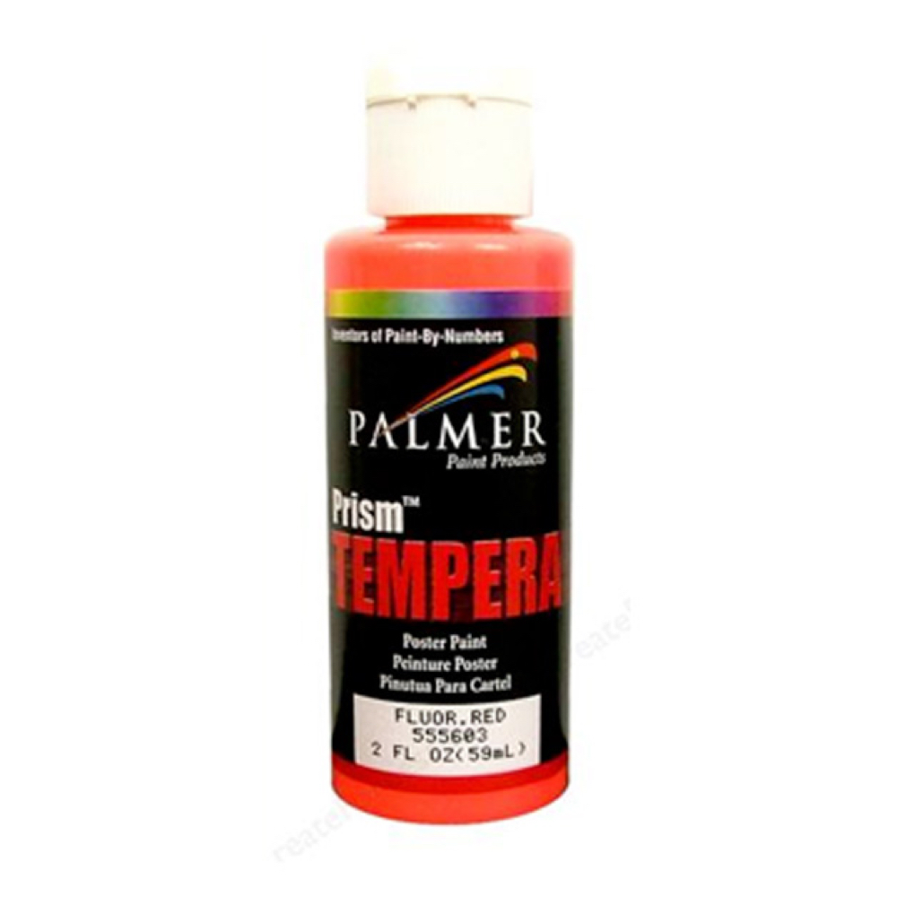Prism Tempera 2 Oz Neon Red