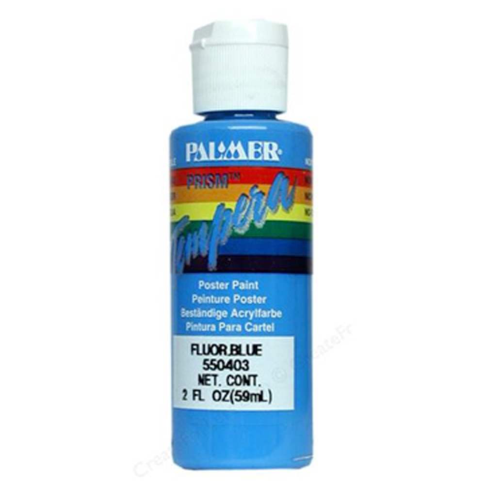 Prism Tempera 2 Oz Neon Blue