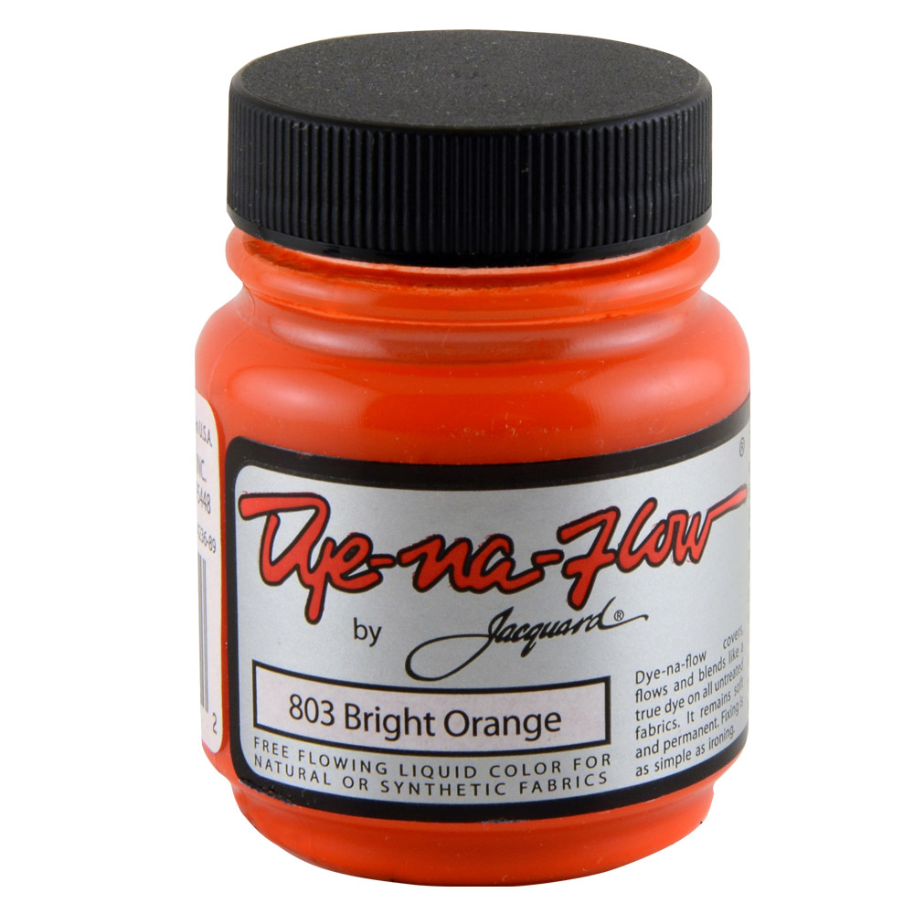 Jacquard Dye-Na-Flow 2.25 OZ Bright Orange