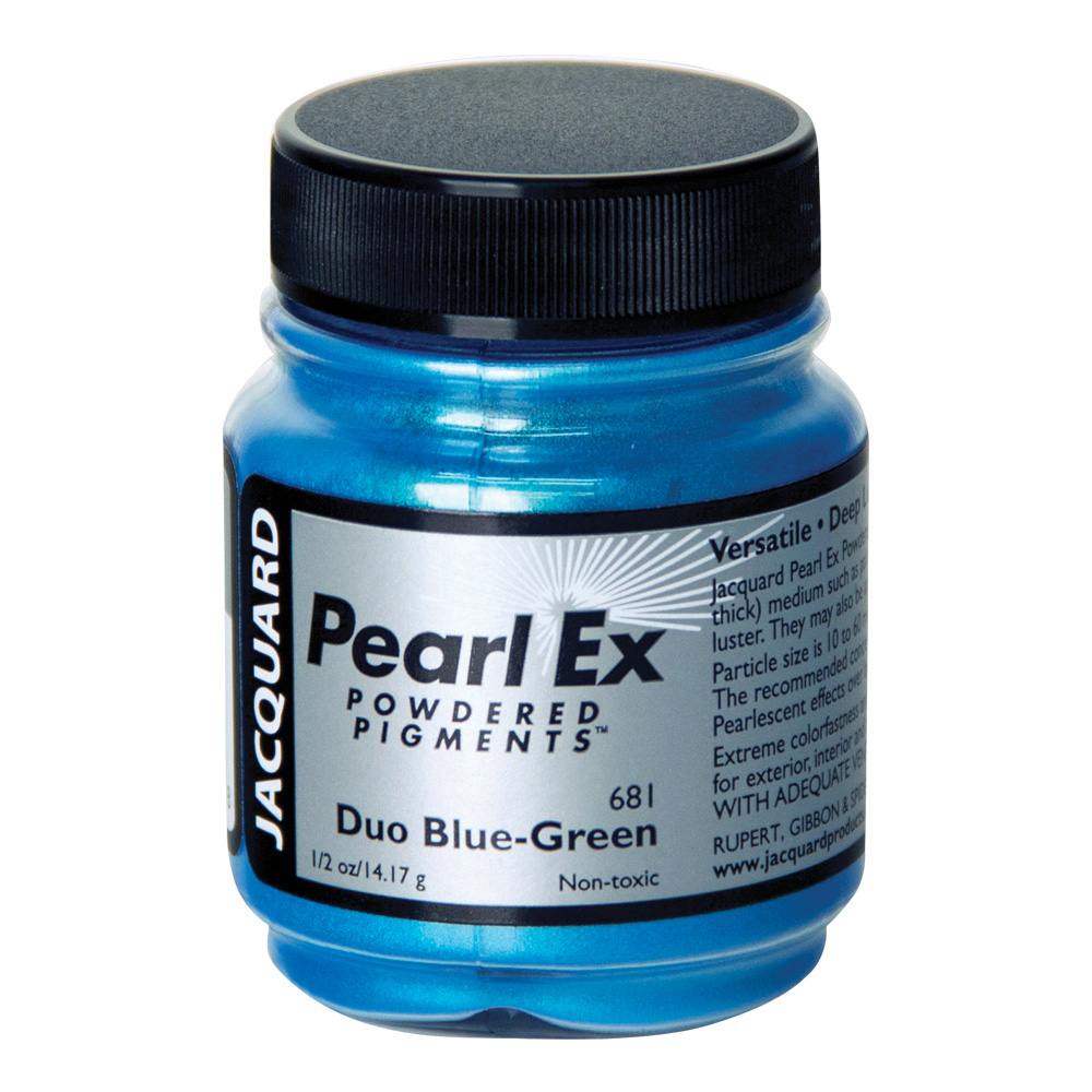 Pearl Ex Pigment .50 Oz Duo Blue-Green #681