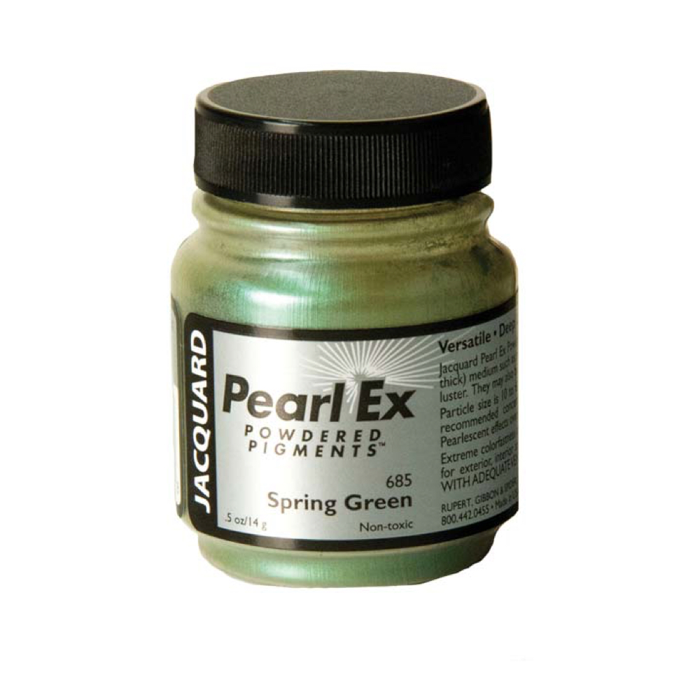 Pearl Ex Pigment .75 Oz Spring Green