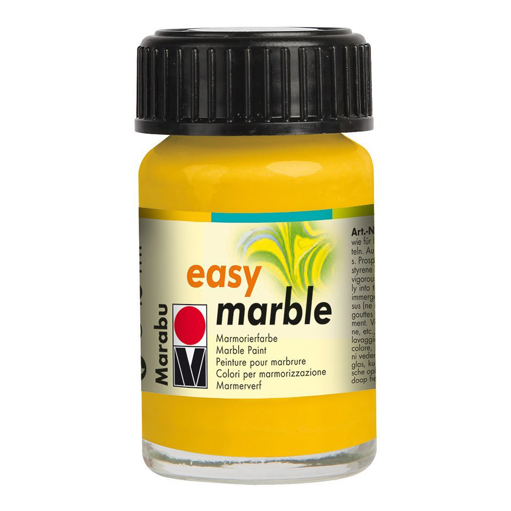 Marabu Easy Marble 021 Med Yellow 15ml