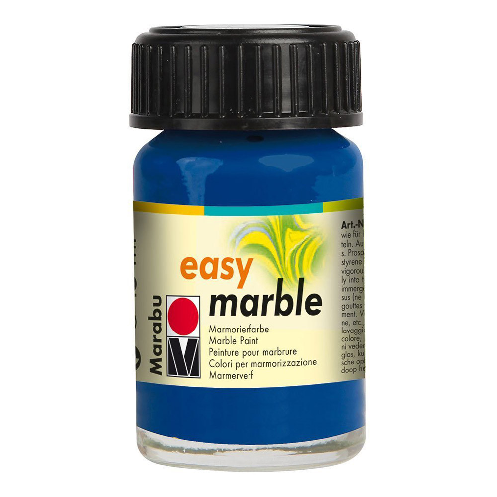 Marabu Easy Marble 055 Dark Ultramarine 15ml