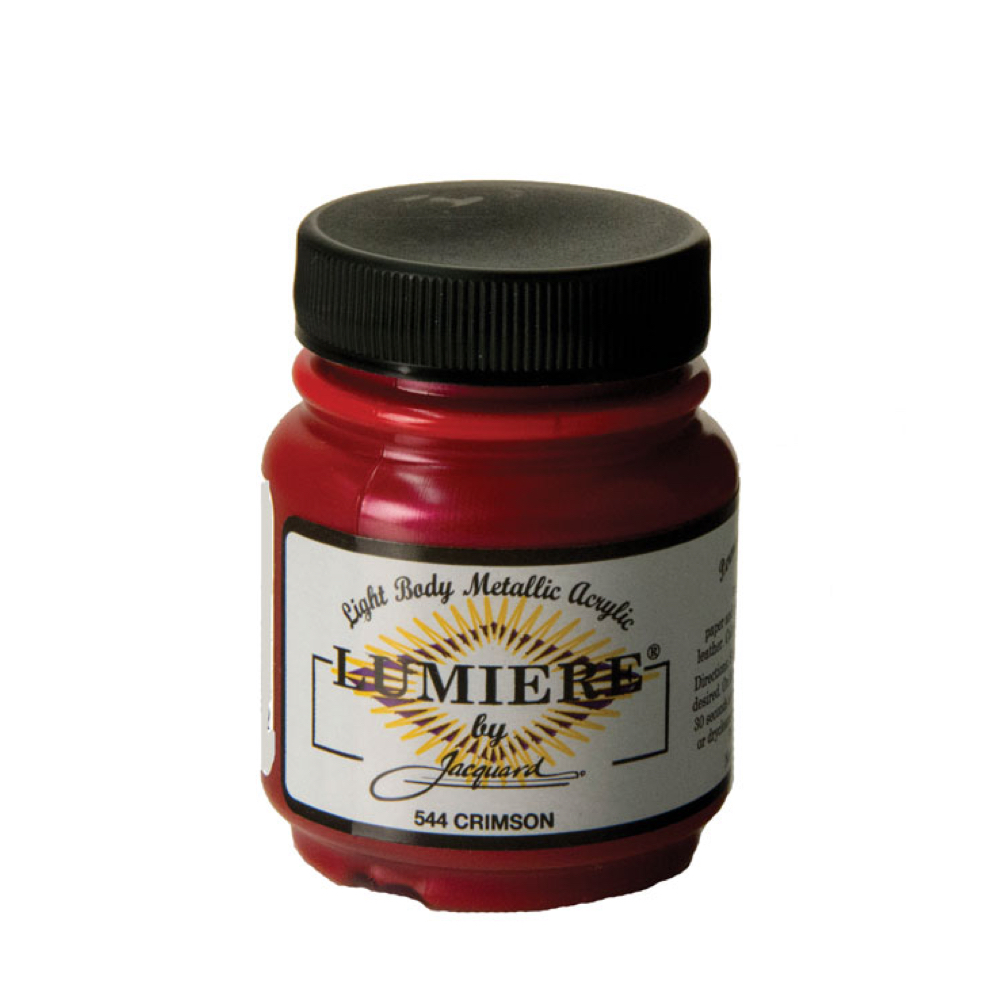 Jacquard Lumiere Paint Crimson 2.25Oz