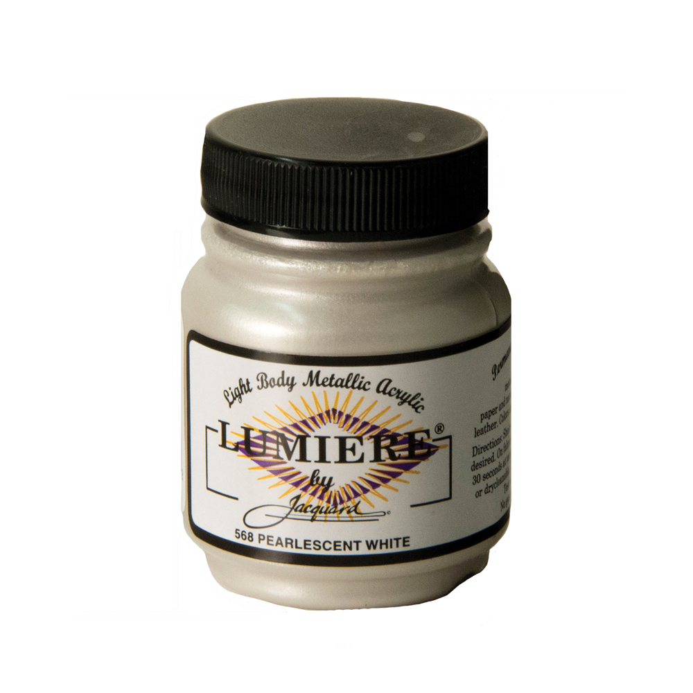 Jacquard Lumiere Paint Pearl White 2.25Oz