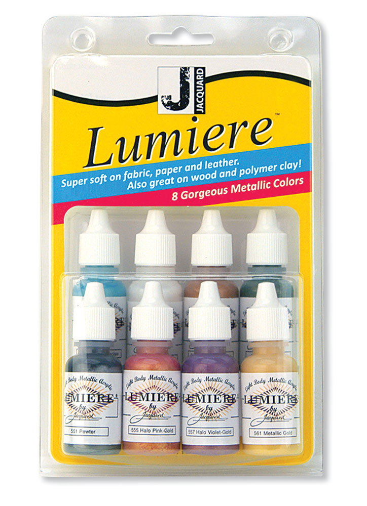 Jacquard Lumiere 8 Color Mini Exciter Pack