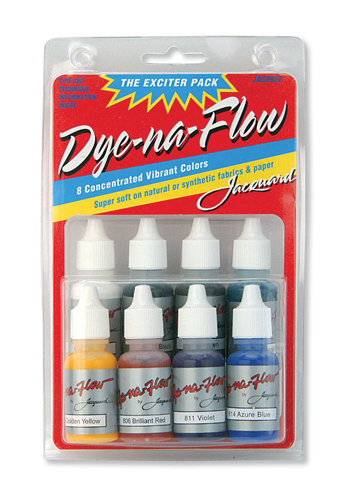 Jacquard Dye-Na-Flow Mini Exciter Pack