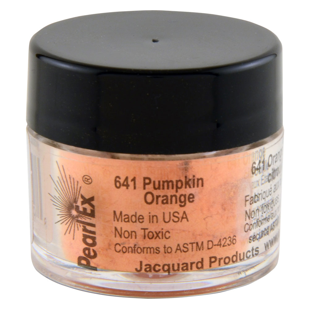 Jacquard Pearl Ex 3 gram #641 Pumpkin Orange