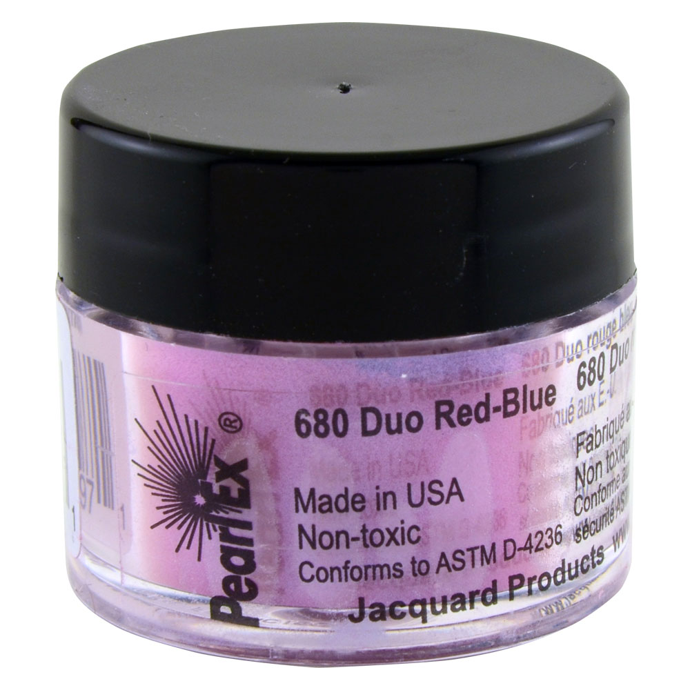 Jacquard Pearl Ex 3g #680 Duo Red-Blue