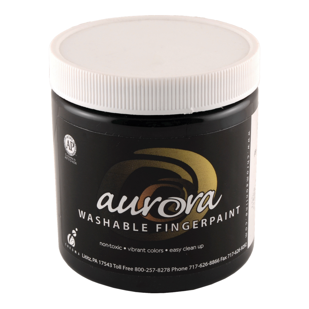 Chroma Aurora Fingerpaint 8 Oz Black