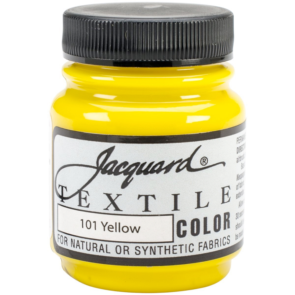 Jacquard Textile Paint 2.25 Oz Yellow