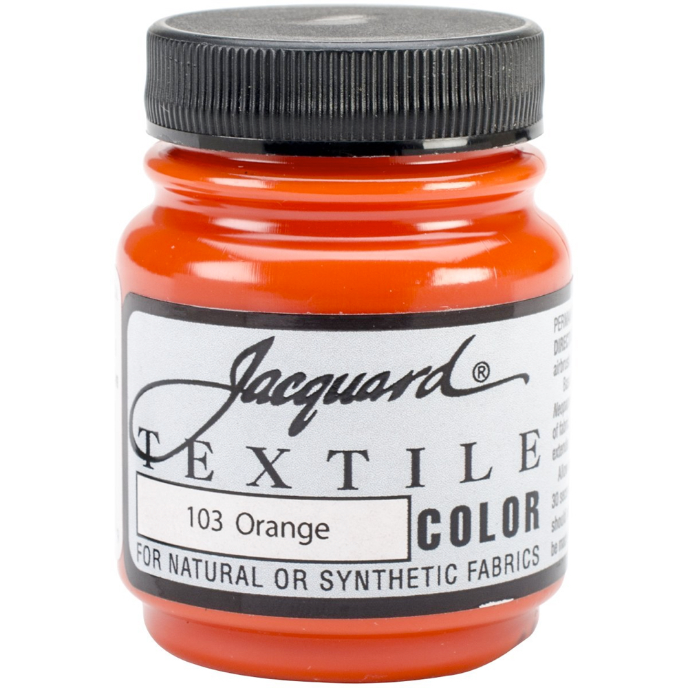 Jacquard Textile Paint 2.25 Oz Orange