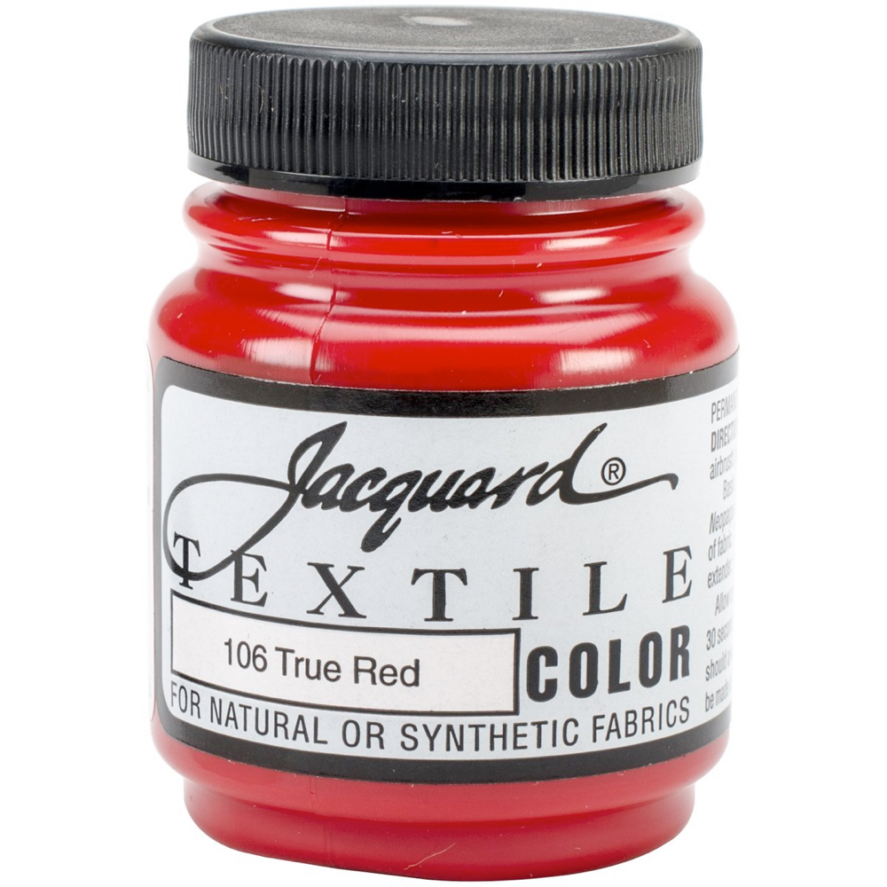 Jacquard Textile Paint 2.25 Oz True Red