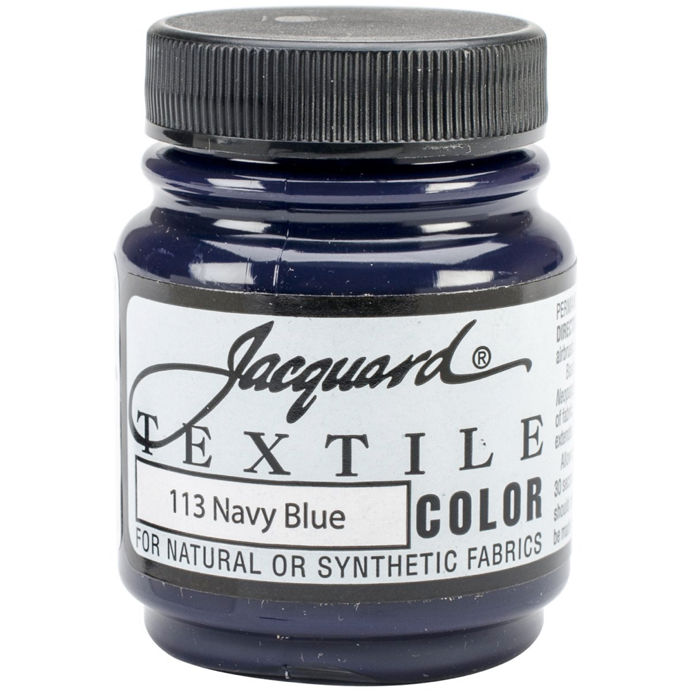 Jacquard Textile Paint 2.25 Oz Navy Blue