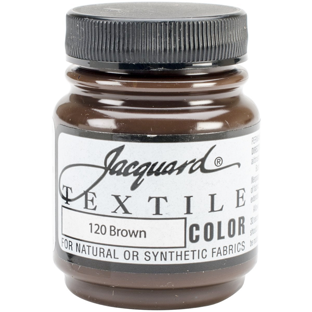 Jacquard Textile Paint 2.25 Oz Brown