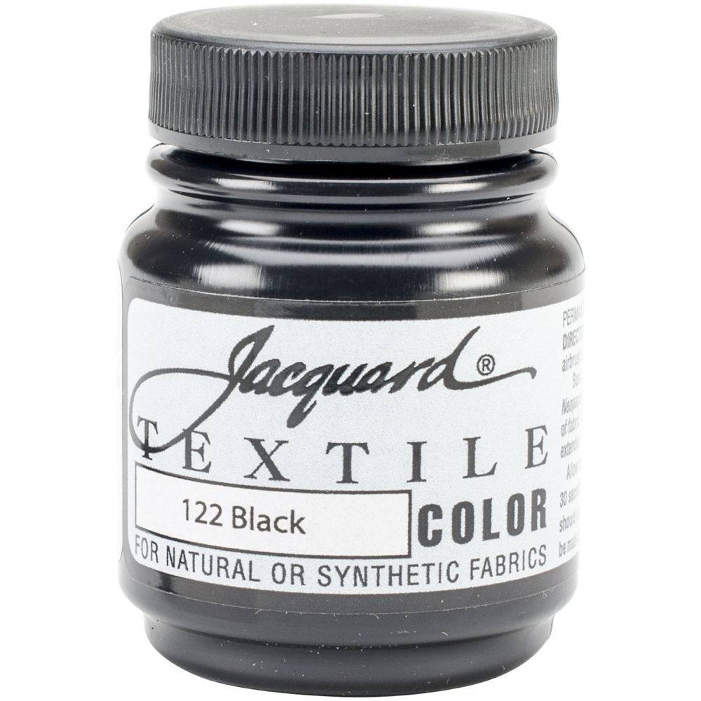 Jacquard Textile Paint 2.25 Oz Black