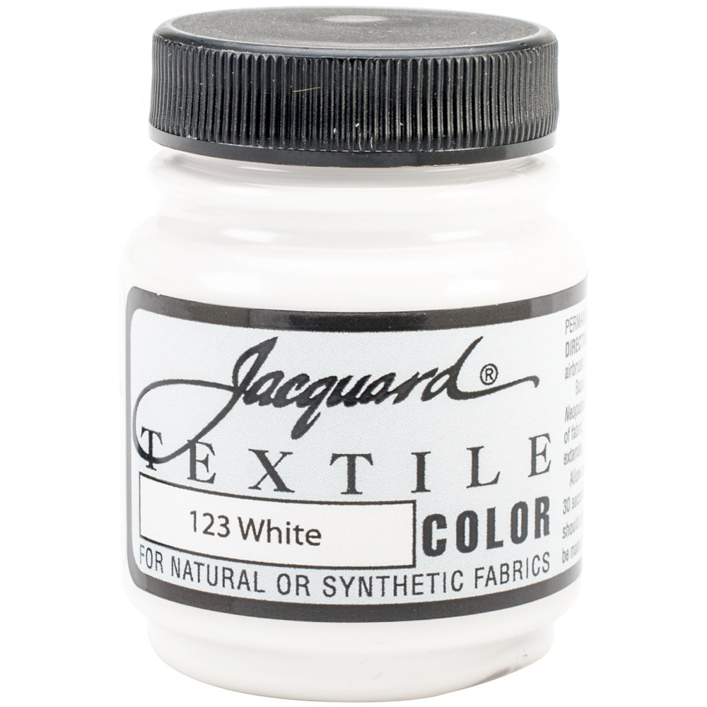 Jacquard Textile Paint 2.25 Oz White