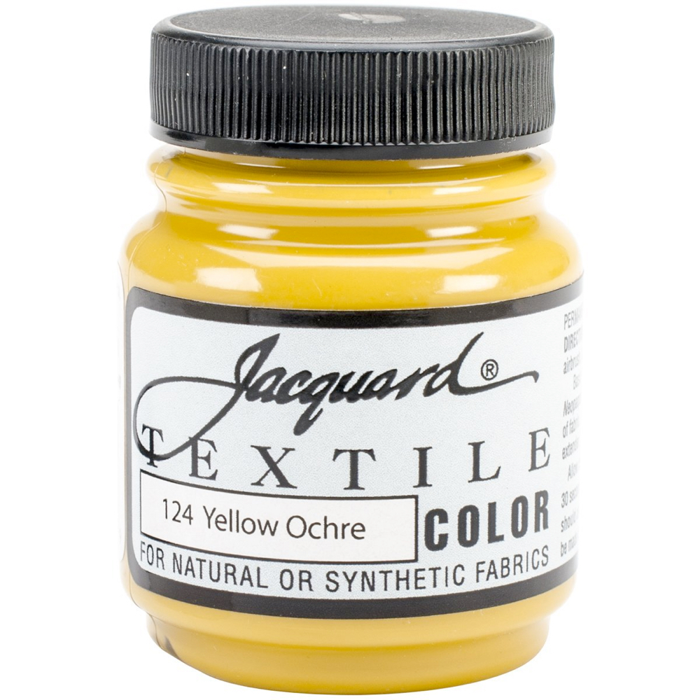 Jacquard Textile Paint 2.25 Oz Yellow Ochre