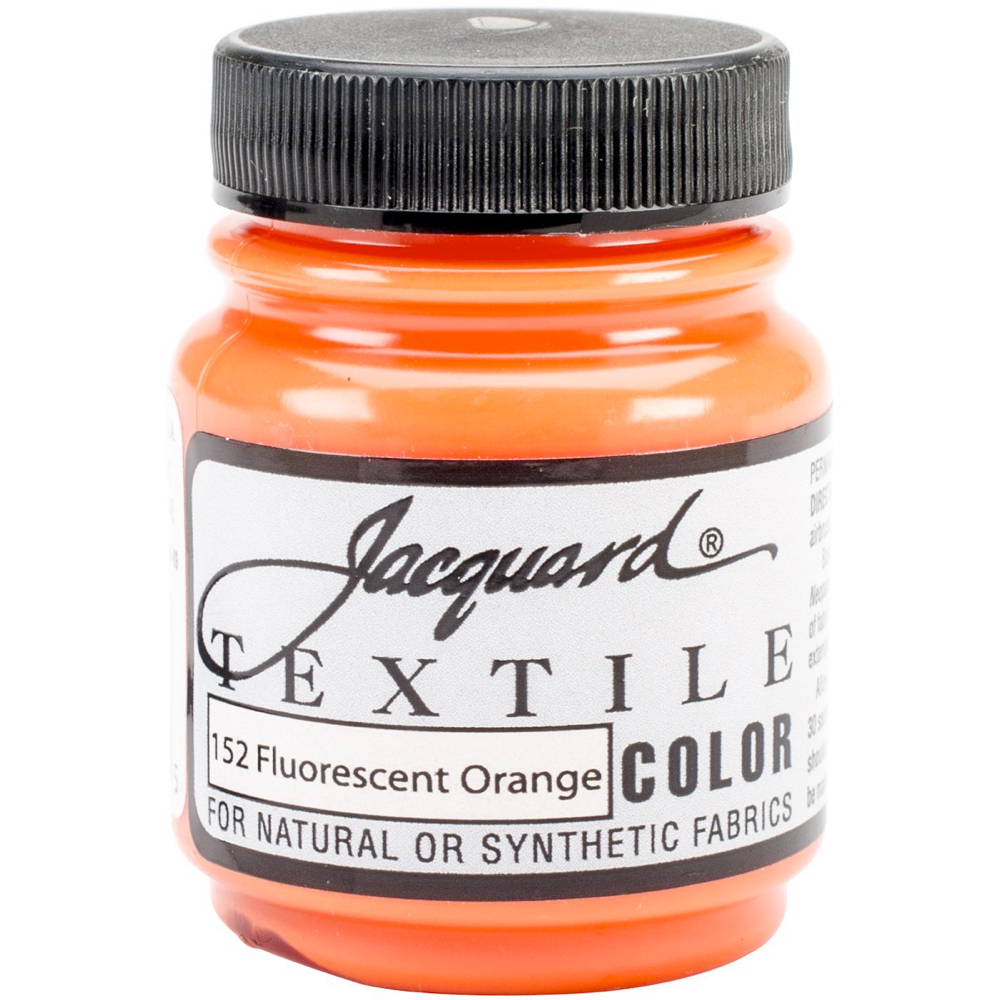 Jacquard Textile Paint 2.25 Oz Fl Orange
