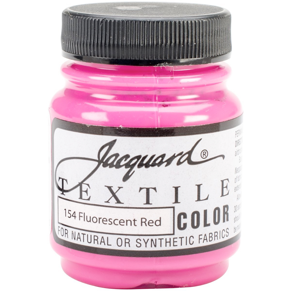 Jacquard Textile Paint 2.25 Oz Fl Red