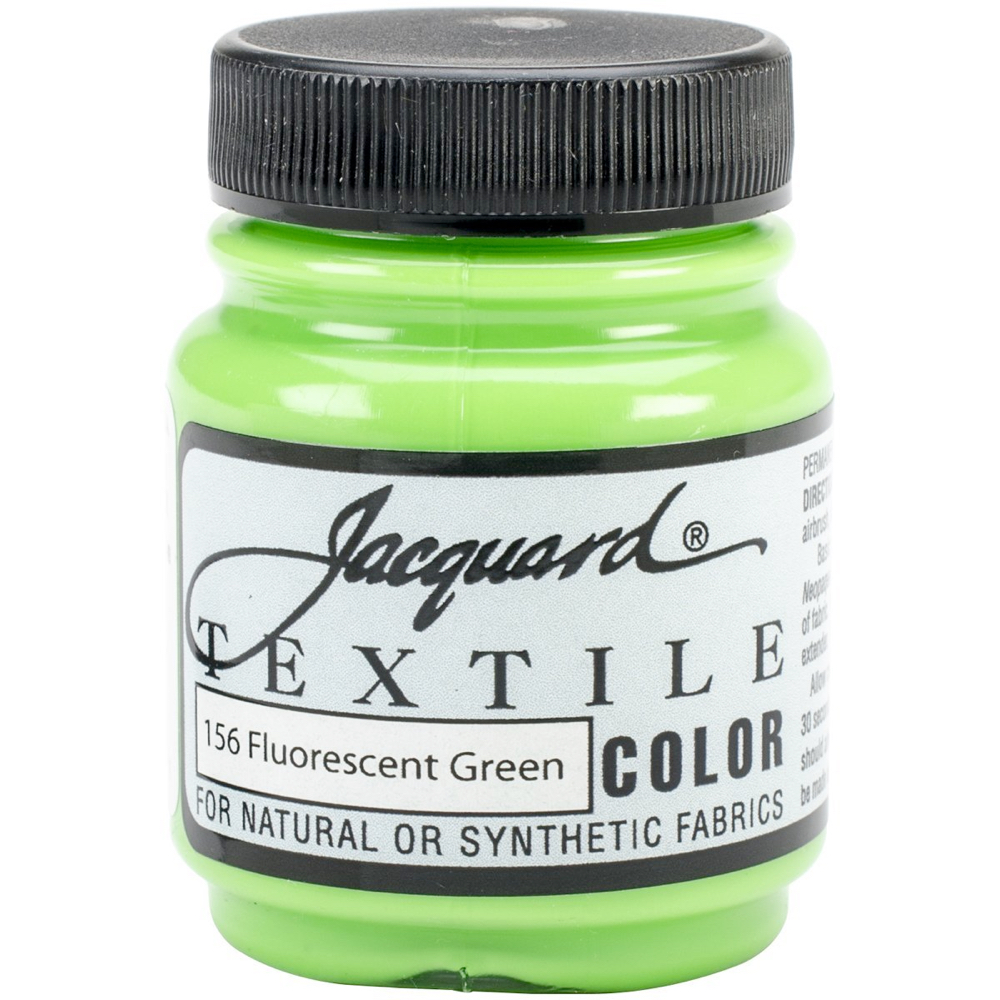Jacquard Textile Paint 2.25 Oz Fl Green