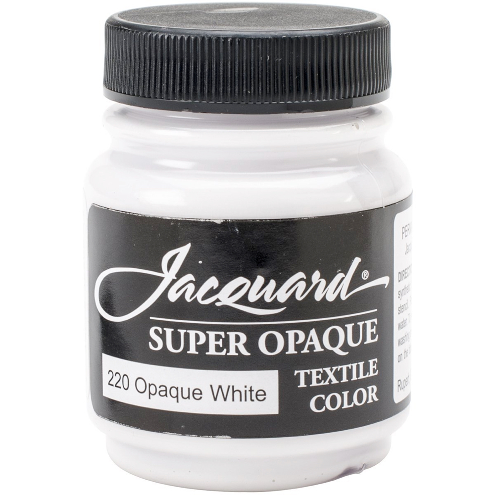 Jacquard Textile Paint 2.25 Oz Opaque White