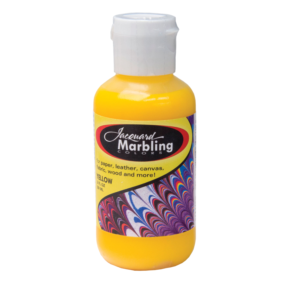 Jaquard Marbling Color Yellow 2Oz