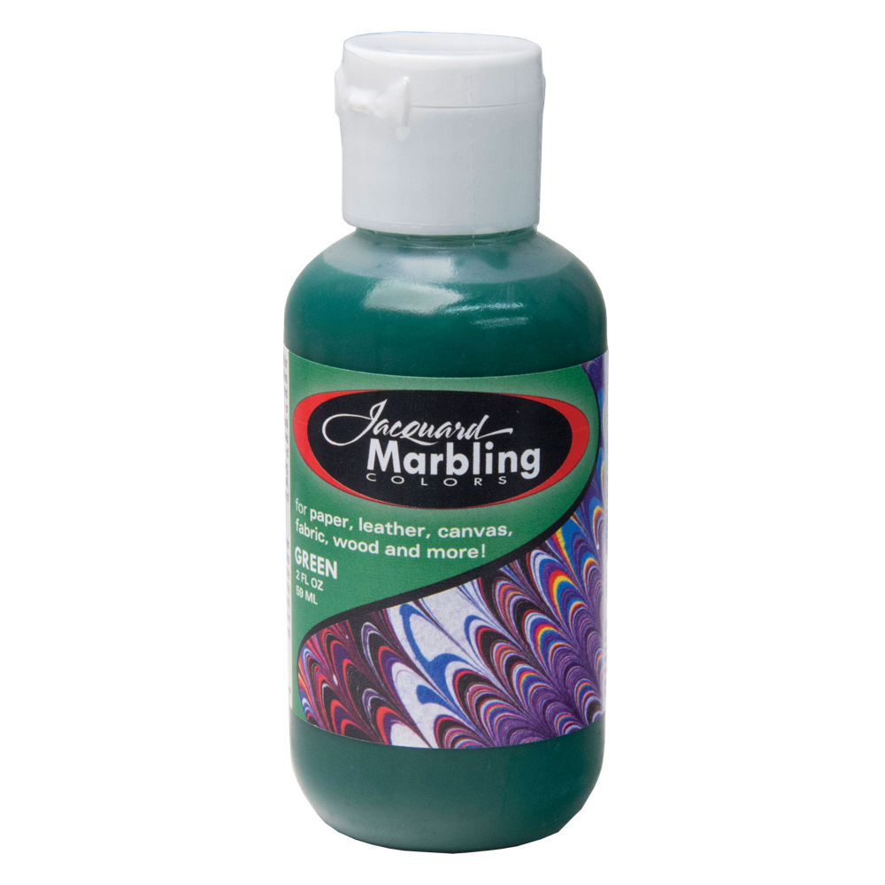 Jaquard Marbling Color Green 2Oz