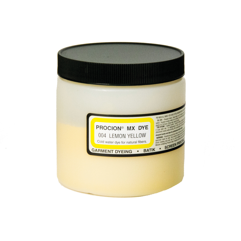 Procion Mx Dye Lemon Yellow 8Oz