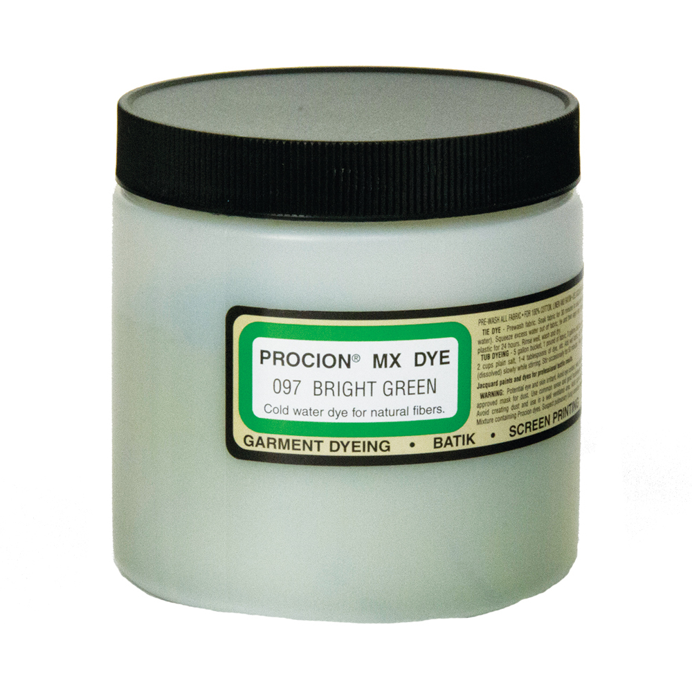 Procion Mx Dye Bright Green 8Oz