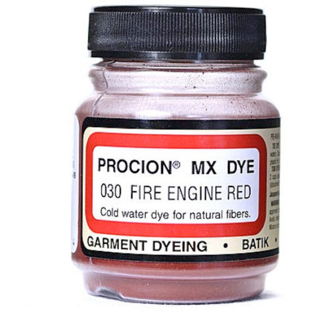 Procion Dye Fire Engine Red .75Oz