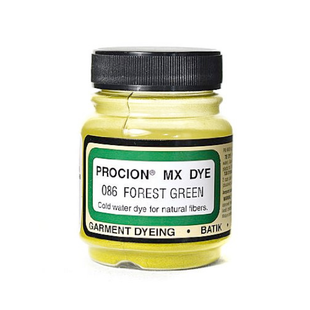 Procion Dye Forest Green .75Oz