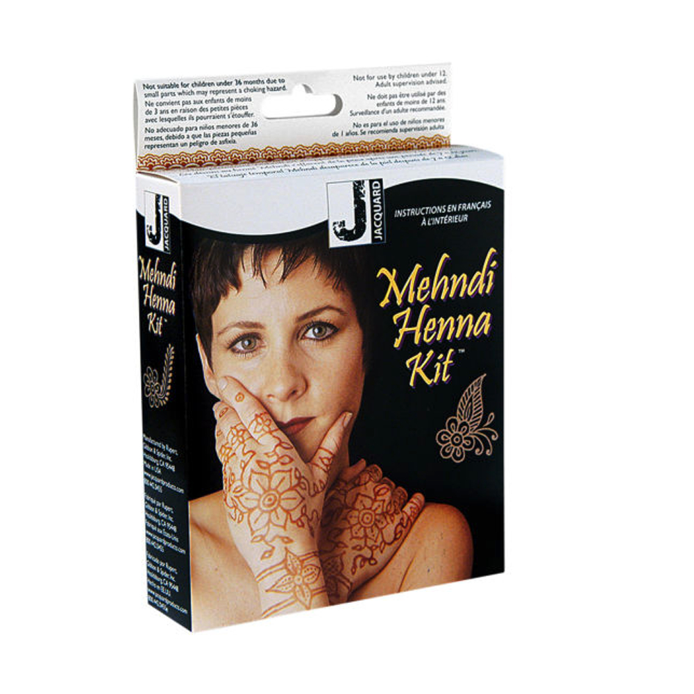 Jacquard Mehndi Henna Tattoo Kit